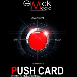PUSH CARD (Rouge)