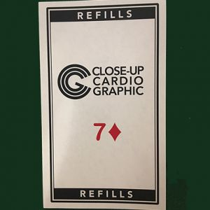 Refill Close up Cardiographic - recharge 50 feuilles