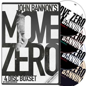 MOVE ZERO (SET de 4 DVD) - John BANNON