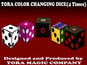 Tour de Magie Tora color changing dice