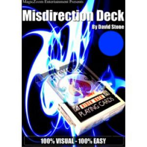 tour de magie Misdirection DECK du magicien DAVID STONE