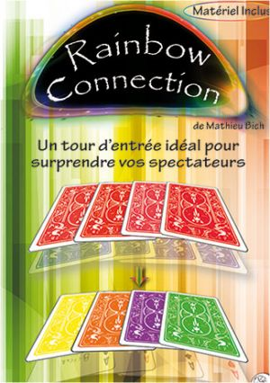 Tour de magie Rainbow Connection du magicien Mathieu BICH