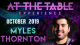 At The Table Live Lecture Myles Thornton October 16th 2019 video