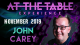 At The Table Live Lecture John Carey 2 November 20th 2019 video