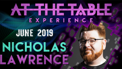 At The Table Live Lecture Nicholas Lawrence June 19th 2019 video