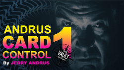 The Vault - Andrus Card Control 1 by Jerry Andrus video